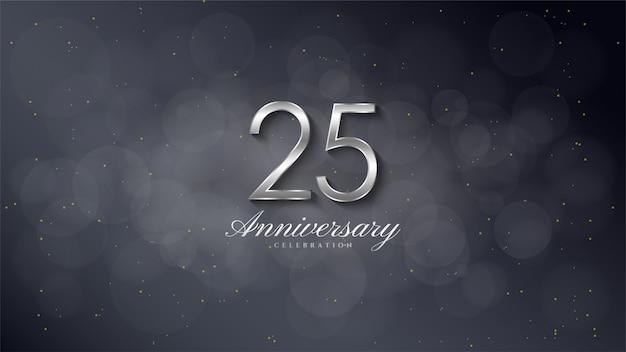 Sfondo di celebrazione di anniversario Vettore Premium