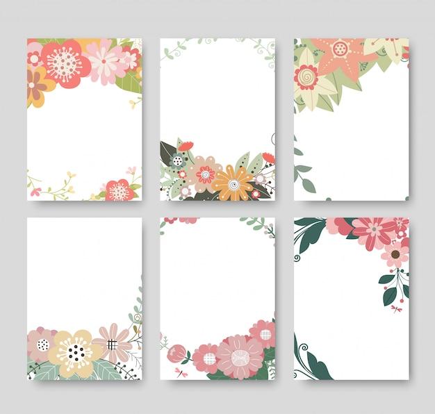 Sfondo di design per notebook Vettore Premium