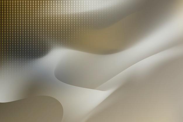 Sfondo di flusso beige Vettore gratuito