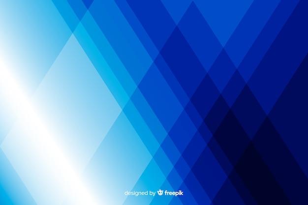 Sfondo di forme blu diamante Vettore gratuito