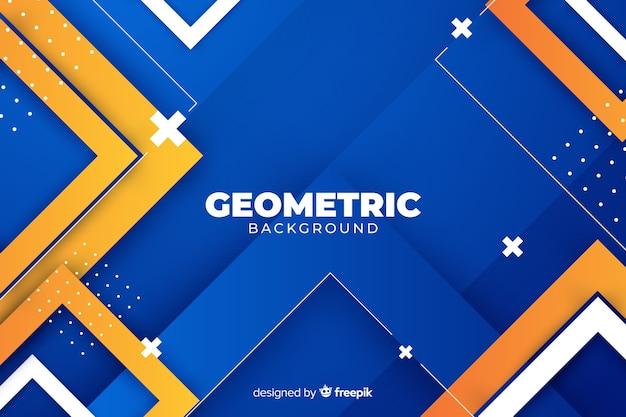 Sfondo di forme geometriche sfumate Vettore gratuito
