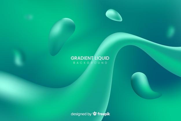 Sfondo di forme liquide Vettore gratuito