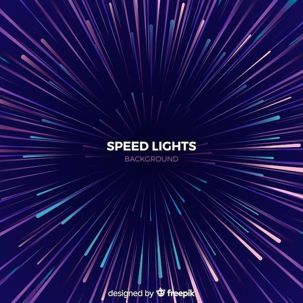 Sfondo di linee di velocità Vettore gratuito