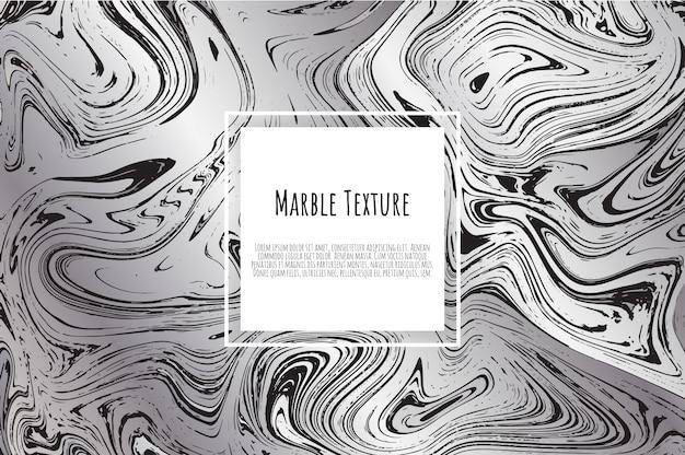 Sfondo di marmo grigio, nero, bianco Vettore Premium