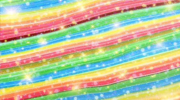 Sfondo di marmo multicolore Vettore Premium
