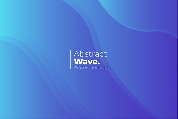 Sfondo di onda astratta Vettore gratuito