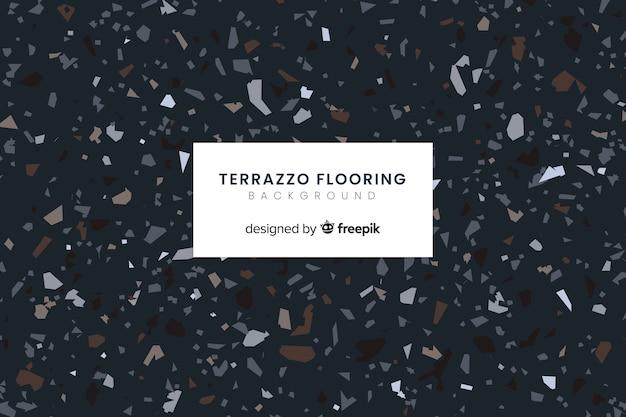 Sfondo di pavimenti in terrazzo Vettore gratuito