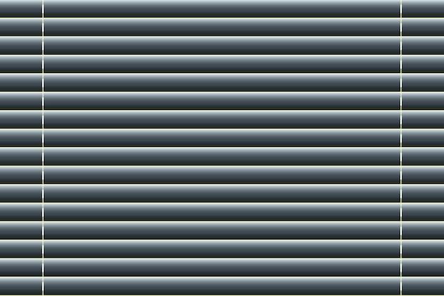 Sfondo di tapparelle in stile realistico. illustrazione vettoriale Vettore Premium