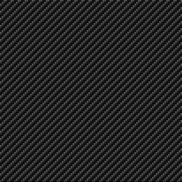 Sfondo di trama in fibra di carbonio Vettore Premium