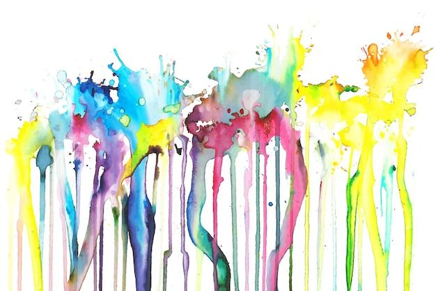 Sfondo dipinto a mano colorato Vettore gratuito