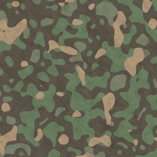 Sfondo dipinto camouflage mano acquerello Vettore gratuito