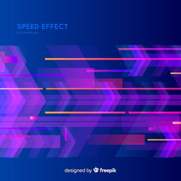 Sfondo effetto velocità Vettore gratuito