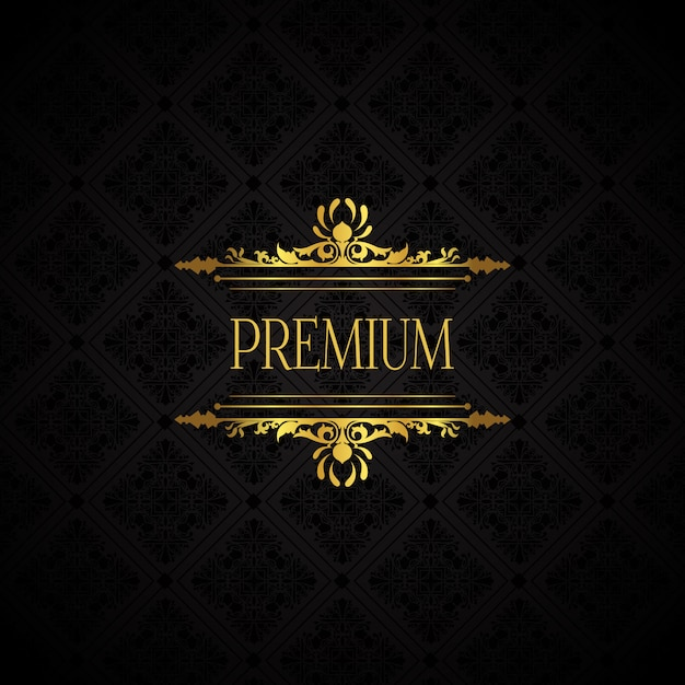 Sfondo elegante marchio di lusso Vettore gratuito