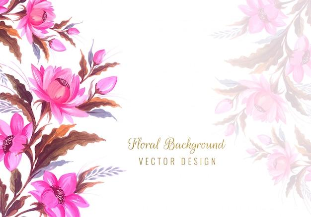 Sfondo floreale di bel mazzo di nozze Vettore gratuito