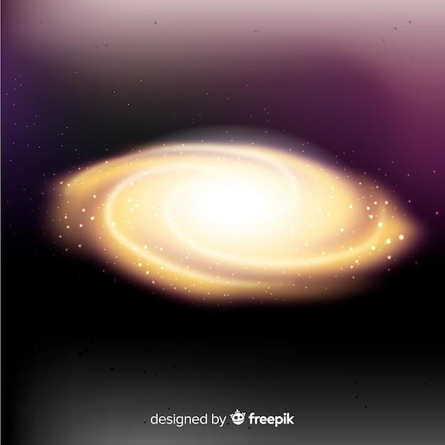 Sfondo galassia a spirale Vettore gratuito