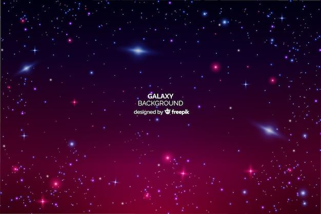 Sfondo galassia Vettore gratuito