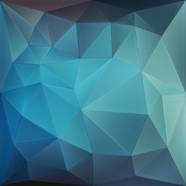 Sfondo Geometrico Blu Scaricare Vettori Premium
