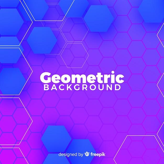 Sfondo geometrico colroful Vettore gratuito