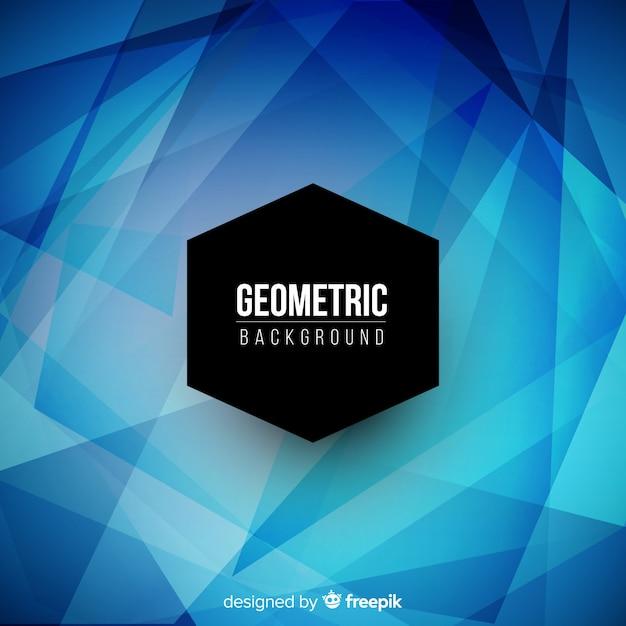 Sfondo geometrico con sfumature Vettore gratuito