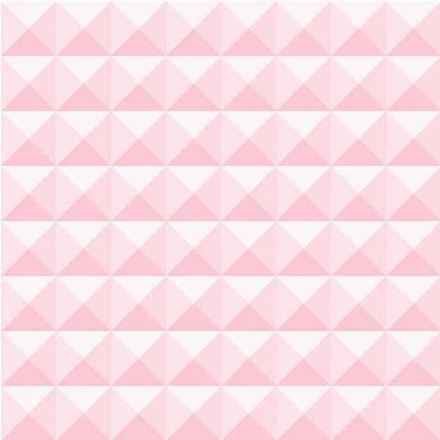 Sfondo Geometrico Con Un Colore Rosa Morbido Scaricare Vettori Premium