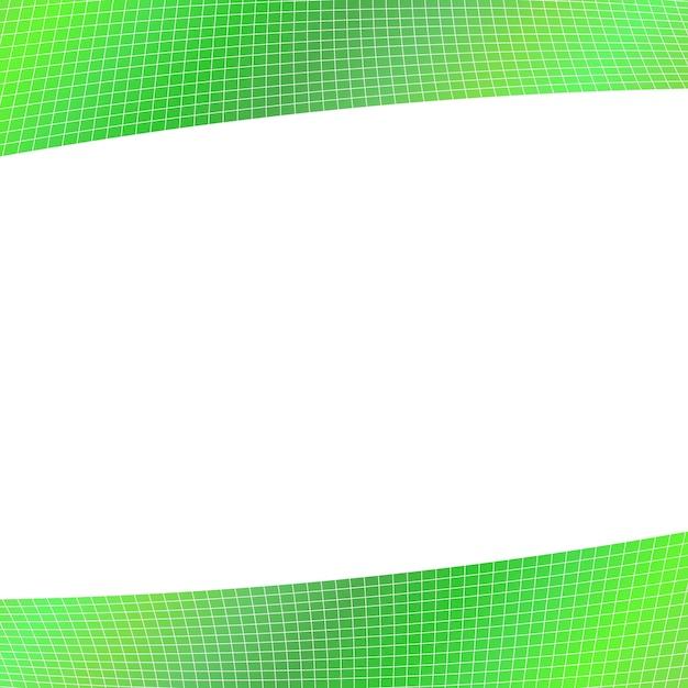 Sfondo geometrico grigio verde - disegno da strisce angolari curve Vettore gratuito