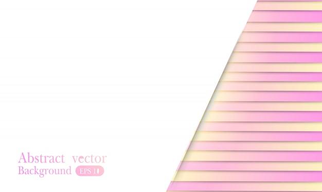 Sfondo geometrico minimalista colorato. composizione di forme fluide. Vettore Premium