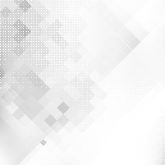 Sfondo geometrico mosaico di colore grigio astratto Vettore gratuito