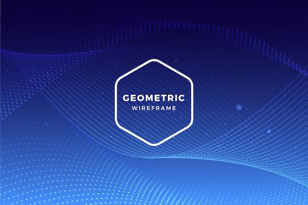 Sfondo geometrico Vettore gratuito