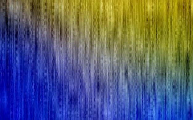 Sfondo giallo vettoriale con forme di bolla Vettore Premium