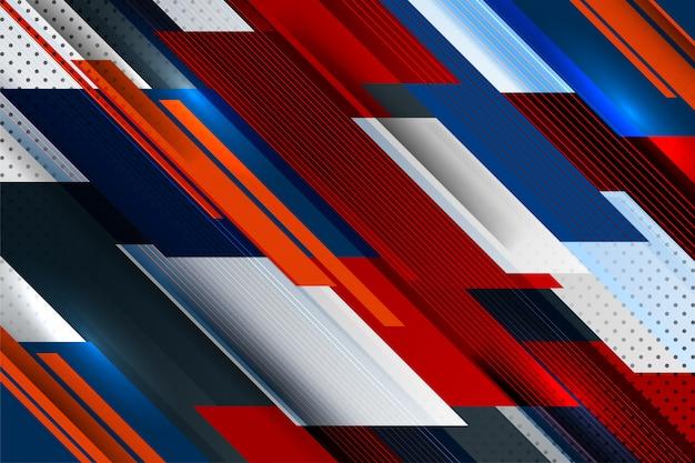 Sfondo grafico a strisce Vettore Premium