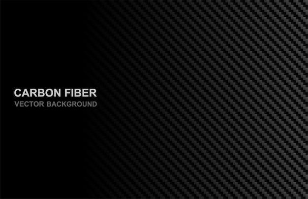 Sfondo in fibra di carbonio Vettore Premium