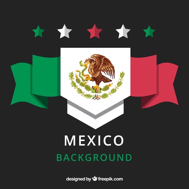 Sfondo messicano Vettore gratuito