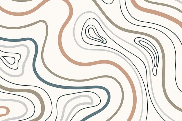 Sfondo modellato tono di terra Vettore gratuito