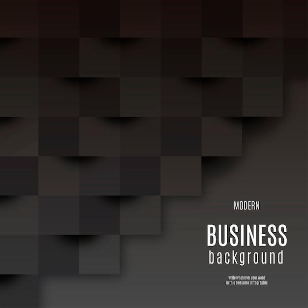 Sfondo nero business moderno Vettore gratuito