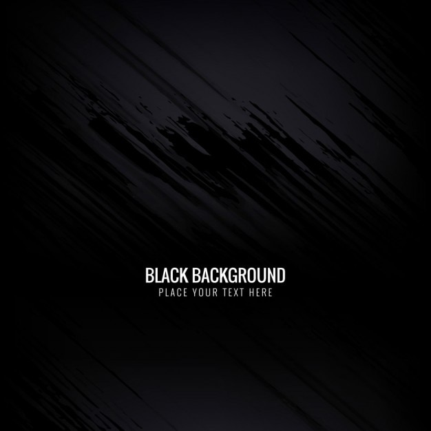 Sfondo nero Vettore gratuito