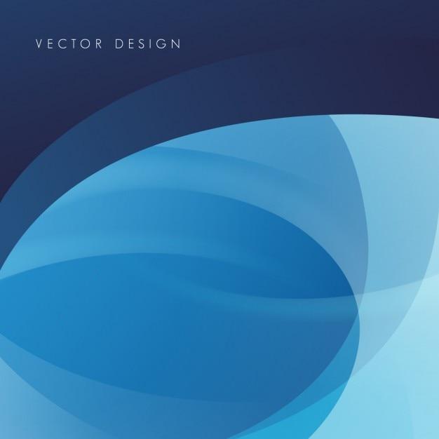 Sfondo poligonale blu Vettore gratuito