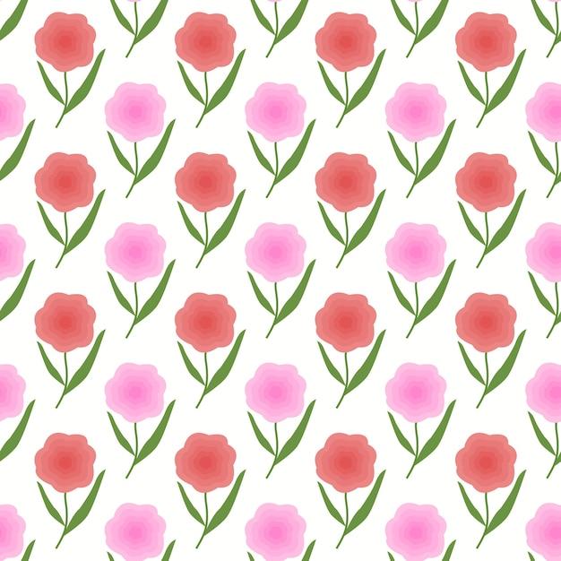 Sfondo Primavera Floreale Di Colore Rosa E Pesca Scaricare Vettori