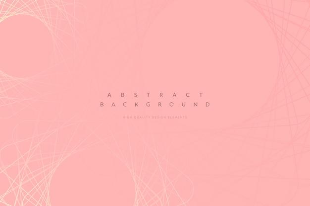 Sfondo rosa minimal Vettore gratuito