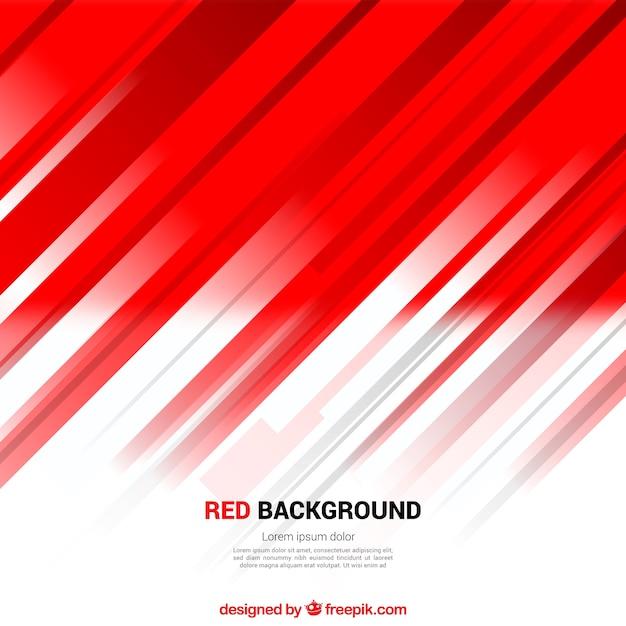Sfondo rosso astratto delle righe Vettore gratuito