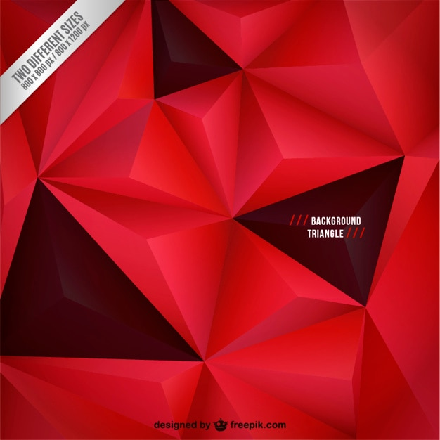Sfondo Rosso E Nero Con Triangoli Scaricare Vettori Gratis