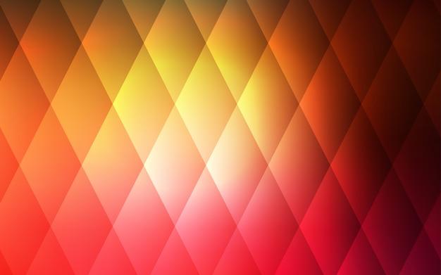 Sfondo Rosso Scuro Giallo Vettoriale Con Rettangoli Quadrati