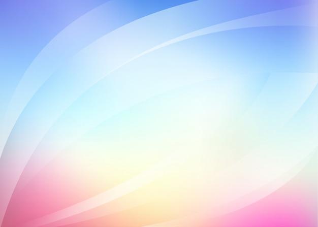 Sfondo Sfumato Rosa Blu Chiaro Scaricare Vettori Premium
