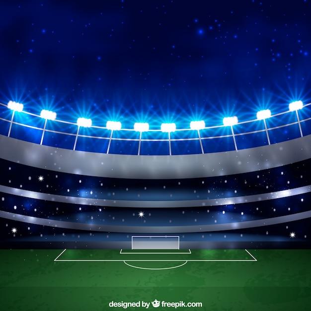 Sfondo windows 10 campo da calcio