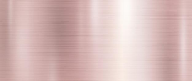 Sfondo texture metallo oro rosa Vettore Premium