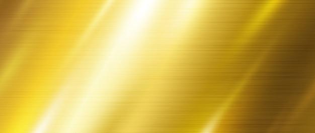 Sfondo texture metallo oro Vettore Premium
