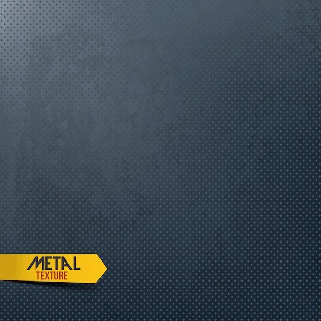 Sfondo texture metallo Vettore Premium