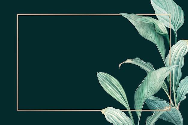 Sfondo verde Vettore gratuito