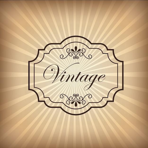 Sfondo vintage Vettore gratuito