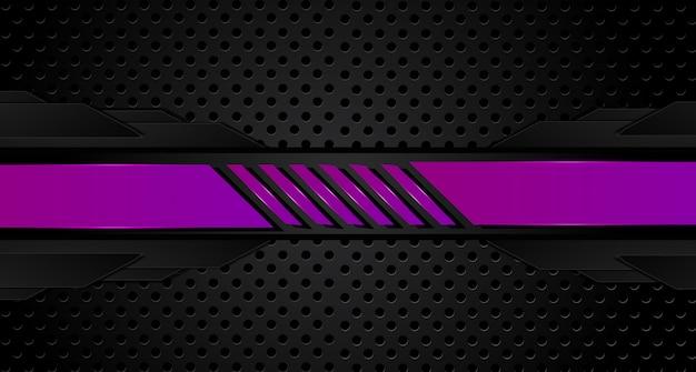 Sfondo viola e nero