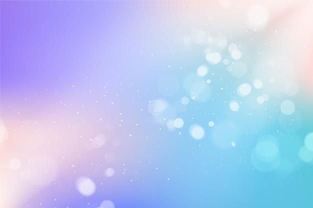 Sfumatura effetto bokeh di sfondo Vettore gratuito